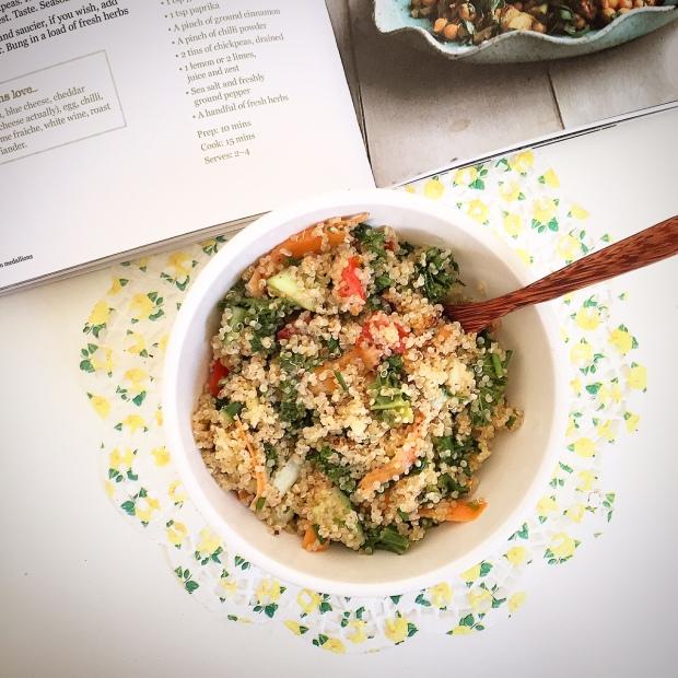 Basic Quinoa salad