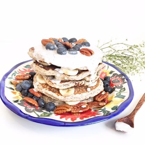 plain buckwheat pancakes