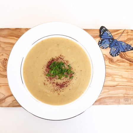 swede courgette soup