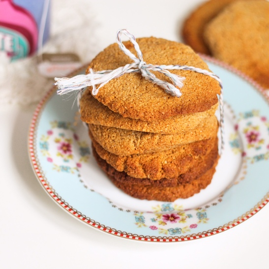 Chai Ginger Snap Cookies 1