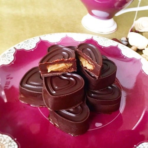 Maca Caramel Chocolates
