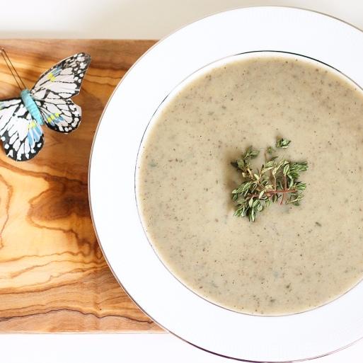 Mushroom Thyme Soup