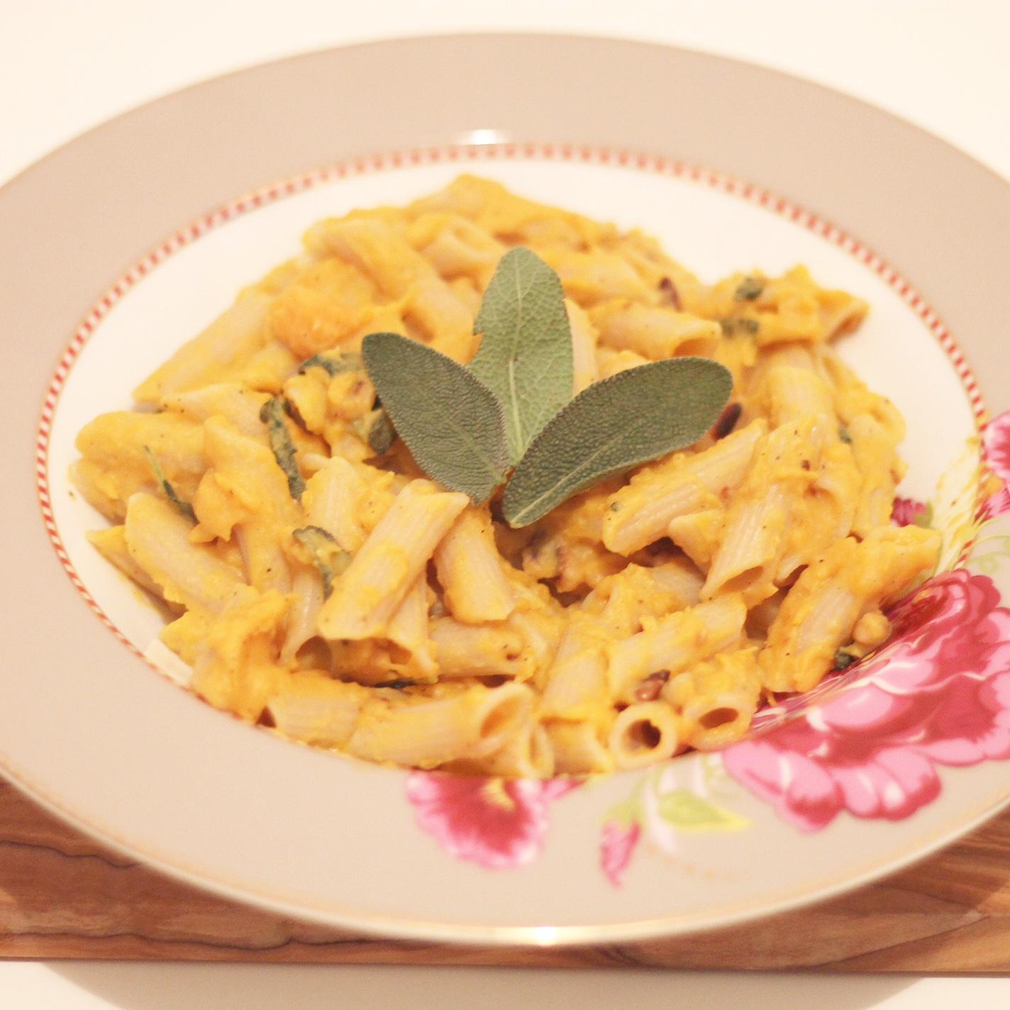 Sweet Potato Sage Pasta