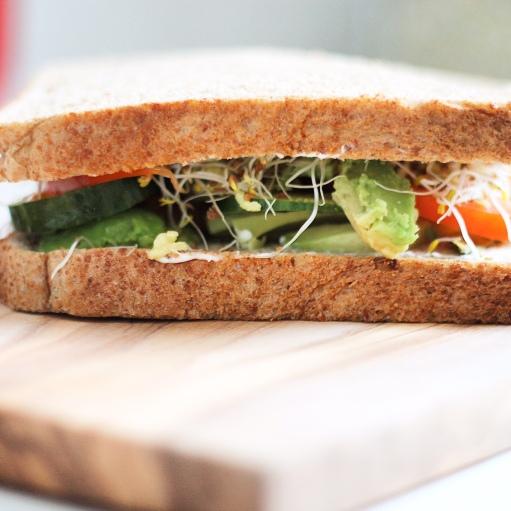 Vegan Sandwich 1