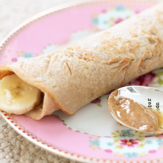 Maca Roll Up Pancakes