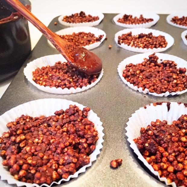 quinoa crispy cakes