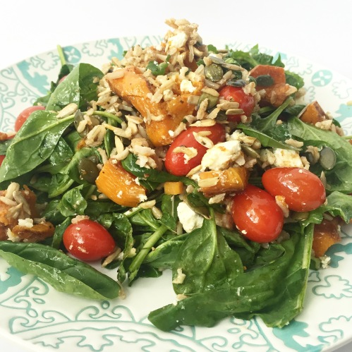 Roasted Butternut & Goat's Cheese Salad