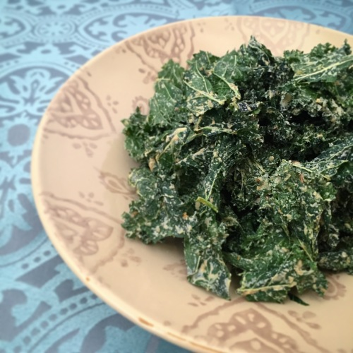 Spicey Kale Chips 2