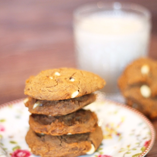White choc cookies 1