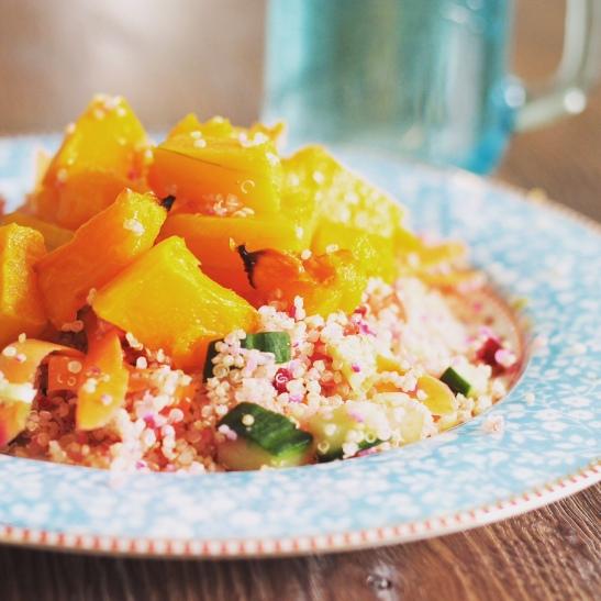 Butternut Quinoa Salad