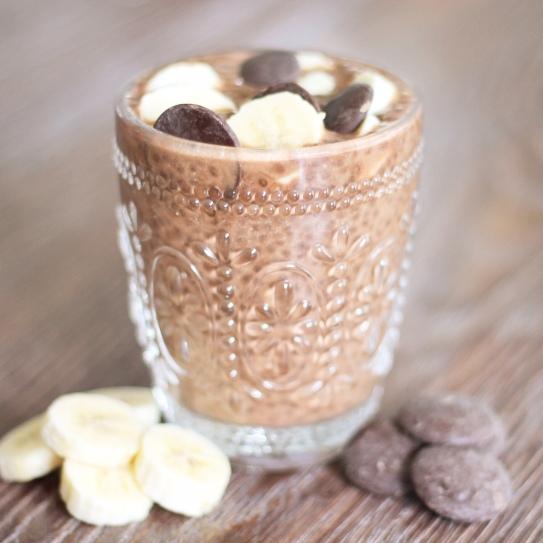Chocolate Chia Maca Pudding