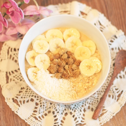 Overnight Oats Mulberries