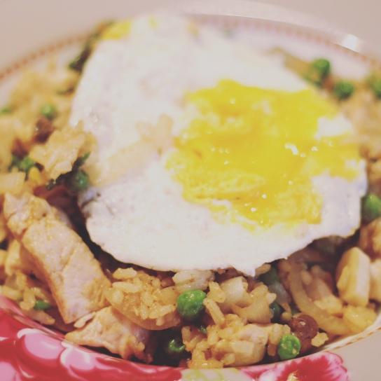 Easy Chicken Rice Veg Dish