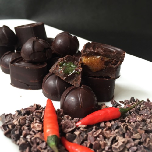 Chilli & Lemongrass Chocs
