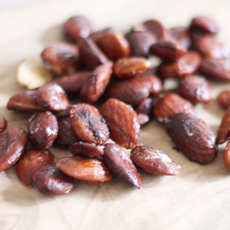 Tamari Roasted Almonds