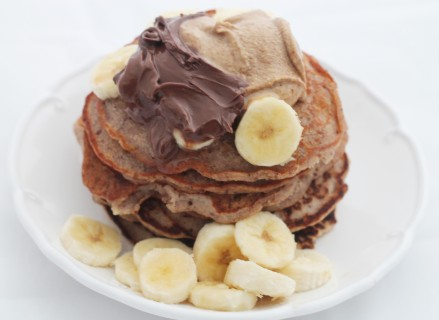 Buckwheat Maca Pancakes