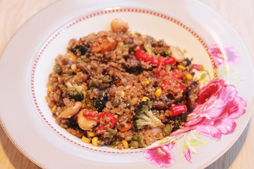 quinoa-and-lentils